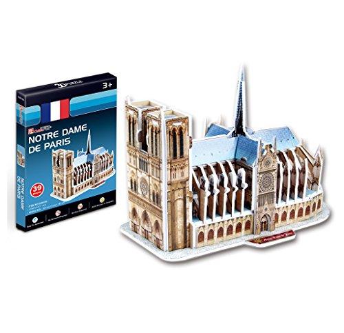 """Price comparison product image CubicFun 3D Puzzle S-Series """"Notre Dame de Paris - France"""""""