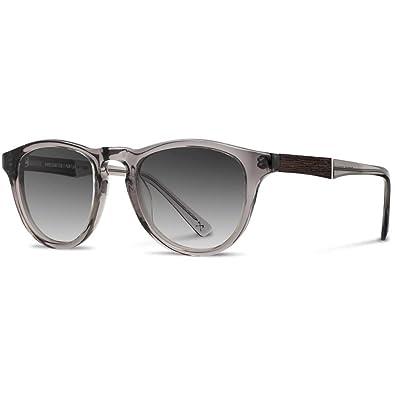 defab81c2fa0e2 Shwood Francis Acetate Sunglasses - Smoke   Ebony   Grey Fade   Amazon.co.uk  Shoes   Bags