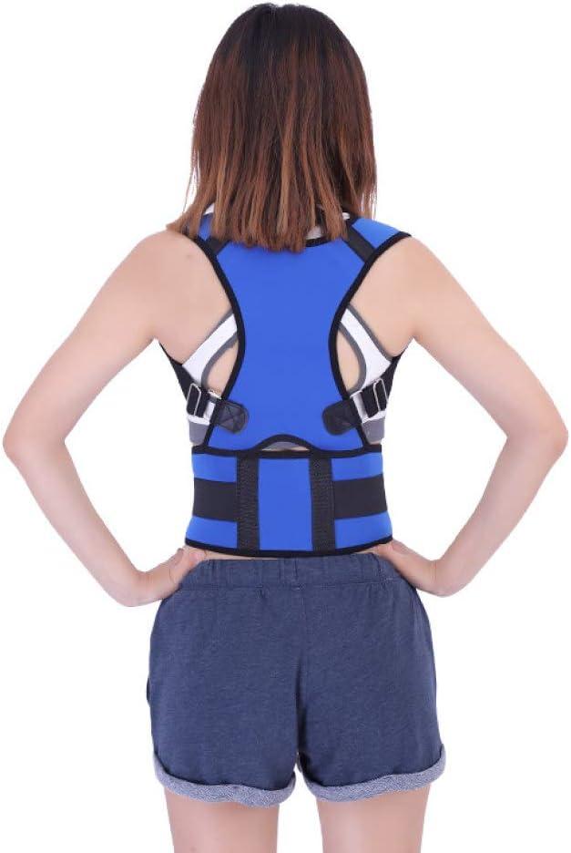 Corrector de postura ajustable Cinturón de soporte para la espalda Vendaje para el hombro Aparato ortopédico Escoliosis Protección de la espalda