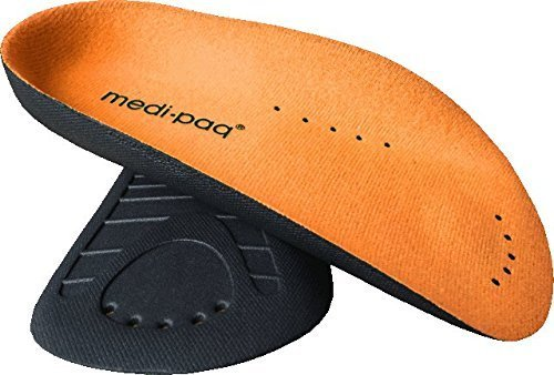 Medipaq ¾ Arch Aid Foot Support – Plantar Fasciitis Arches Pain Relief Orthotic Insole 1x Pair 5.5-9.5