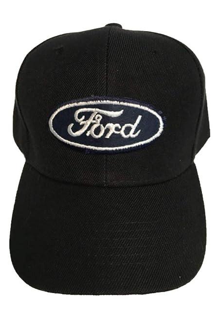 quality design 1d70a 5fcb3 Aftermarket Ford Baseball Cap Hat Black. Adjustable
