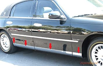 Amazon.com: Made In USA! 98-2011 Lincoln Town Car Lower Rocker ...