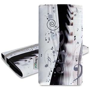 Stilbag Funda 'MIKA' para Samsung Wave 3 S8600 - Diseño: Piano Music