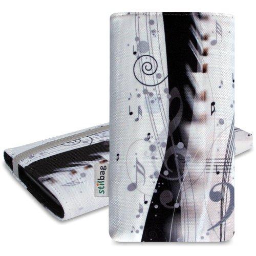 Stilbag Funda MIKA para Sony Xperia Z3 - Diseño: Industrial multicolor, diseño de piano