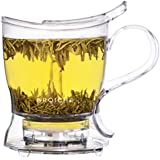 GROSCHE Aberdeen Tea Steeper, 525ml 17.7 oz, Teapot and Tea Infuser, BPA-Free & Foodsafe Tritan