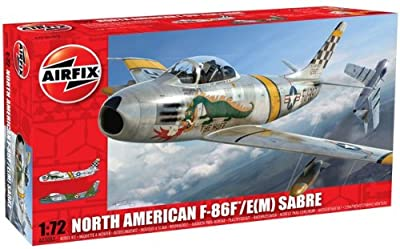 Airfix A03082 North American F-86F Sabre 1:72 Scale Military Aircraft Series 3 Model Kit