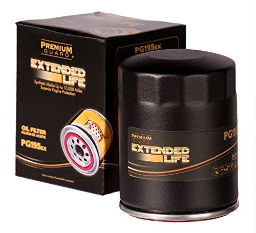 PG PG195EX EXtended Performance Oil Filter|Fits 2005-07 Chrysler Cirrus, 2003-09 PT Cruiser, 2004-08 Dodge Dakota, 2004-08 Durango, 2003-05 Neon, 2007-08 Nitro, 2002-08 Ram 1500, 1986-97 Ford Aerostar