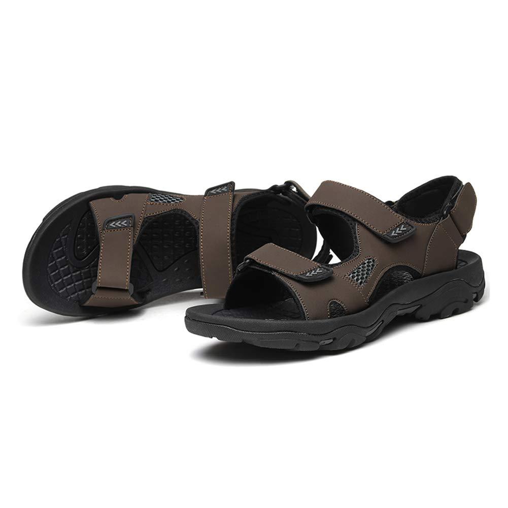 Aardich Hommes Maille Sandales Velcro Plage Sandale Chaussures /À Bout Ouvert Casual Casual Sandale