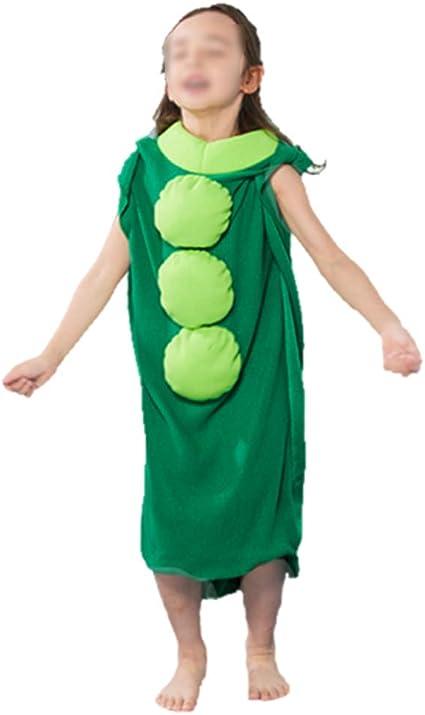 Toyvian Disfraz de guisante para niños Guisante en la vaina ...