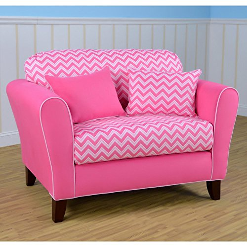 Kangaroo Trading Navy Pebbles Tween Loveseat by Kangaroo Trading