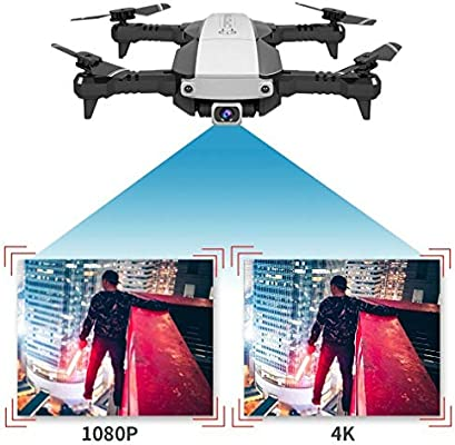 MeterMall Drones Drone x Pro 5G Selfie WiFi FPV con cámara Dual 4K ...