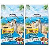 Purina Friskies Seafood Sensations Dry Cat Food, 3.15 lb. Bag (Pack of 2) Larger Image