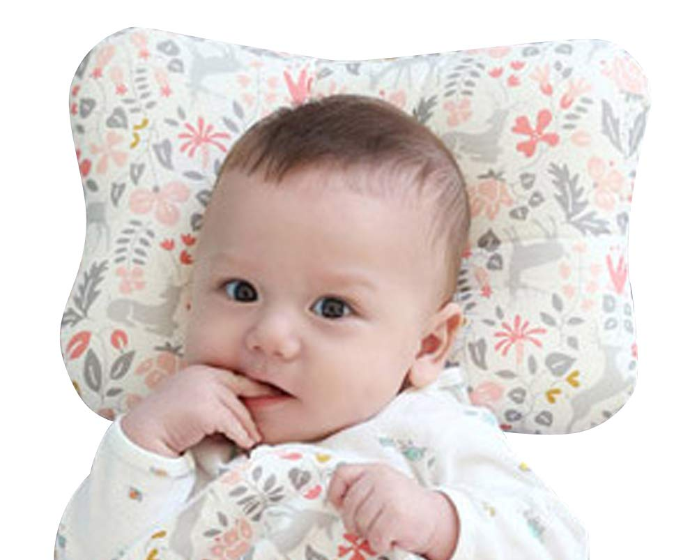 Baby Pillow for Newborn, Protection for Flat Head Syndrome