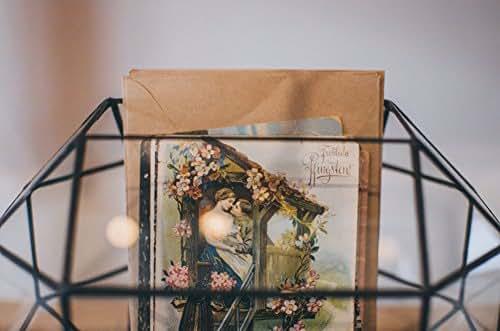 Amazon.com: Large Wedding Card Holder Glass Box, Mailbox