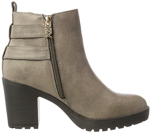 047400 XTI Taupe para Marrón Chelsea Negro Taupe mujer Botas wAq6fxgF