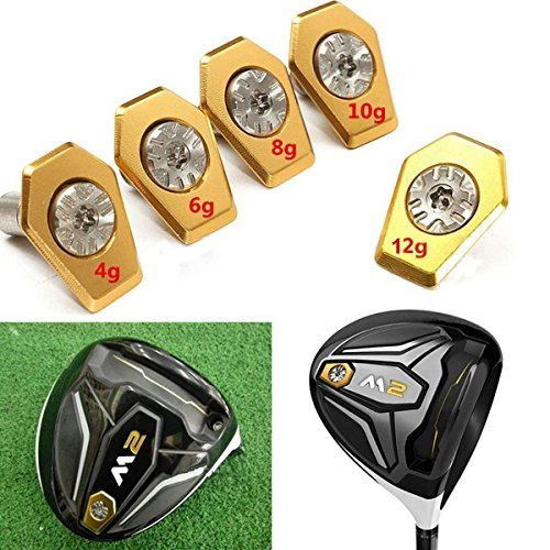 CARBEX Golf Weight with Screw for 2016 Taylormade M2 Driver M2 Tour Issu 460CC by CARBEX
