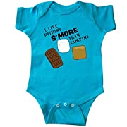 inktastic - I Love Nothing S'More Than Camping Infant Creeper Newborn Turquoise