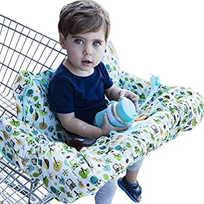 Shopping Cart Cover for Baby or Toddler2-in-1 High Chair CoverCompact Fit