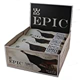 EPIC Turkey Almond Cranberry Protein Bars, Whole30, 12 Count Box 1.5oz bars