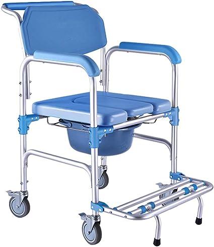 Sedia da Bagno per Toilette da Trasporto Medica, Sedia da