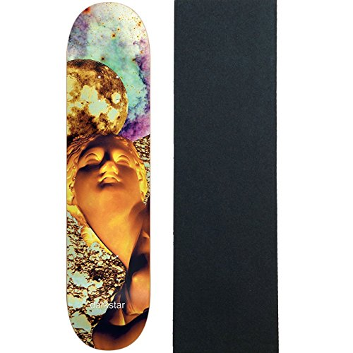 Darkstar Skateboard Deck Solar Yellow 7.75