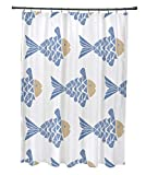 Fish Tales Shower Curtain E by design 71 x 74