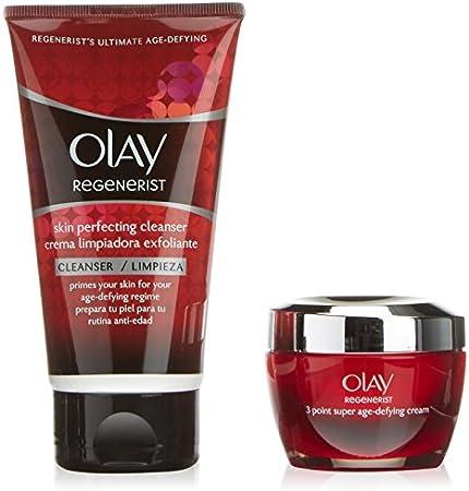Olay - Regenerist tres areas 50 ml + gel limpiador