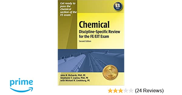 chemical discipline specific review for the fe eit exam 2nd ed rh amazon com Fe Exam Preparation fe electrical and computer review manual errata
