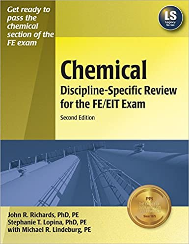 chemical discipline specific review for the fe eit exam 2nd ed rh amazon com Fe Review Book Fe Exam Preparation