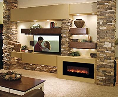 Modern Flames Builder Series Built-in Electric Fireplace, 43-Inch