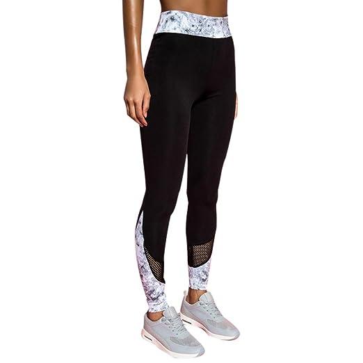 97002c34326 Amazon.com: Bokeley Women Yoga Pants, Women's Fashion Patchwork Mess ...