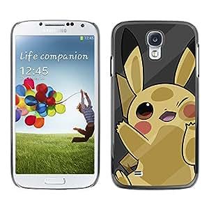 Stuss Case / Funda Carcasa protectora - Cute Yellow P0Kemon - Samsung Galaxy S4