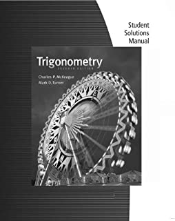 Amazon student solutions manual for mckeagueturners student solutions manual for mckeagueturners trigonometry 7th fandeluxe Images