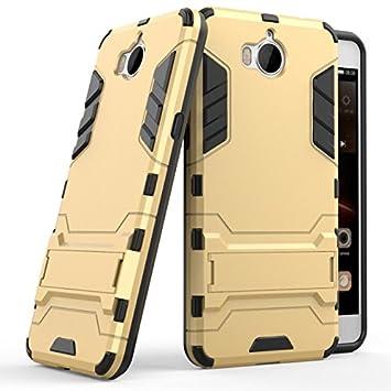HOMESTAYDD Huawei Y5 2017 Case, Iron Bear Style 2 In 1