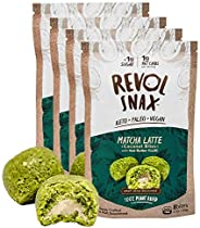 New! Revol Snax Coconut Bites, Keto Snacks - Low Carb High Fat, 1g Net Carb, Clean Ingredients - Fat Bomb, Die