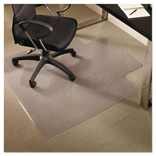 Reliatronic Office Chair Mat for Carpeted Floors, 36''x48'' Desk Chair Mat with Lip, Suitable for Low/Medium Pile Carpet, Transparent by Reliatronic (Image #2)