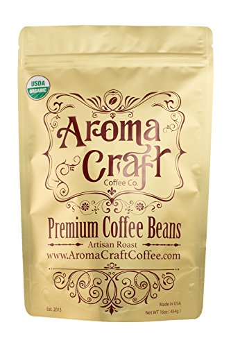 Aroma Craft Coffee Organic Classic Blend, 1 lb