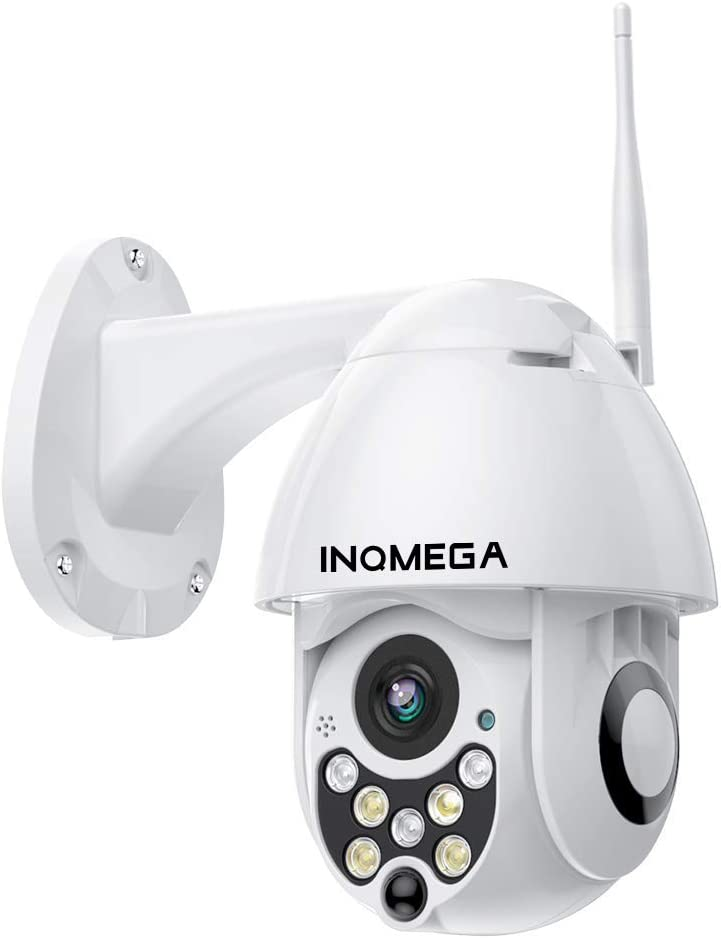 Inqmega Ptz Camera Outdoor 1080p Wifi Security Ip Camera 2 4g Pan Tilt Dome Camera Motion Alerts 50ft Night Vision Waterproof Ip66 Surveillance Ip Camera With Two Way Audio Support Max