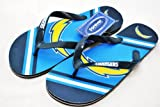 San Diego Chargers Official NFL Unisex Flip Flop Beach Shoes Sandals slippers size XS