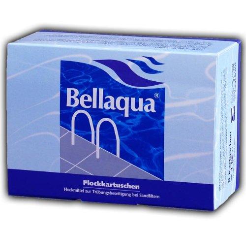 8x Flockkartusche Pool Schwimmbad Wasserpflege 1KG Flockmittel Bellaqua 749