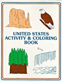 United States Activity and Coloring Book, Anne M. Eccles, 0961855525