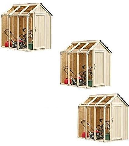 Hopkins 90190 2x4basics Shed Kit Barn Style Roof 3 Packs