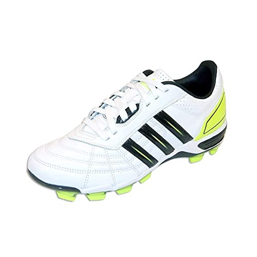 adidas 118 Pro FG Chaussures de Rugby BlancNoirFluo