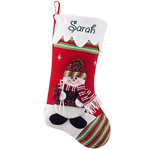 Personalized Winter Wonderland Christmas Stocking - 10 Designs - Custom Gifts - 17