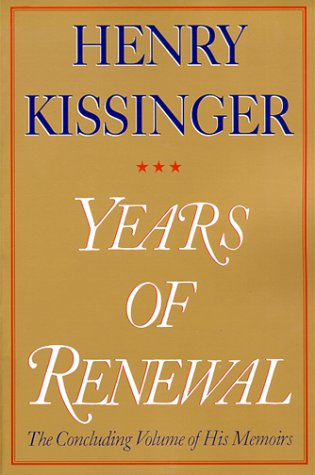 Years Renewal Henry Kissinger product image