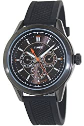 Timex T2P179 Mens Multi All Black Silicone Watch