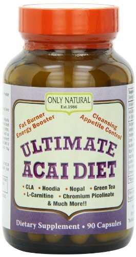 Only Natural Ultimate Acai Diet, 90-Count by Only Natural