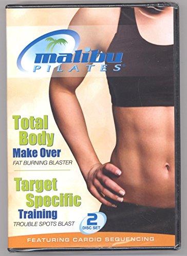 Malibu Pilates Total Body Make Over Target Specific Training 2-Disc Set