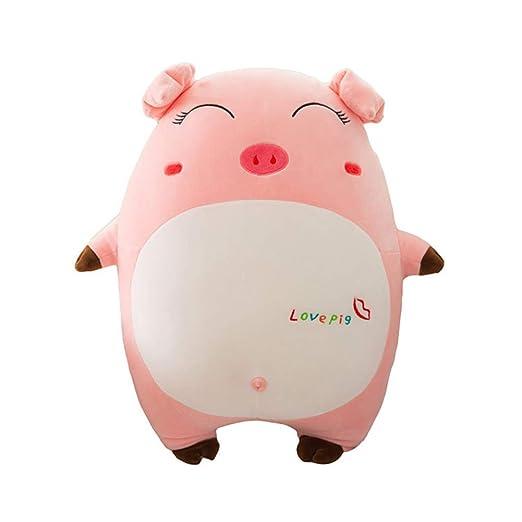 HYANF Lindo Kawaii Mini Expresión Cerdo Almohada de Juguete ...