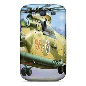 linJUN FENGFor Galaxy Case, High Quality Soviet Transport Helicopter For Galaxy S3 Cover Cases